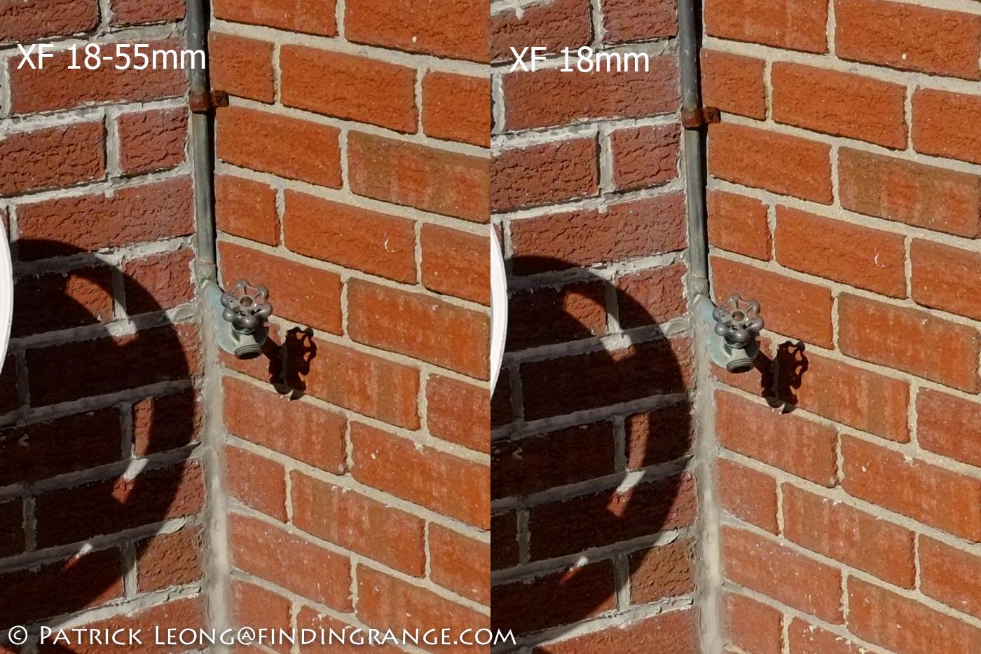 Comparison Test: Fuji 18-55mm F2.8-4 R Lens Vs. XF 18mm F2.0 R Lens