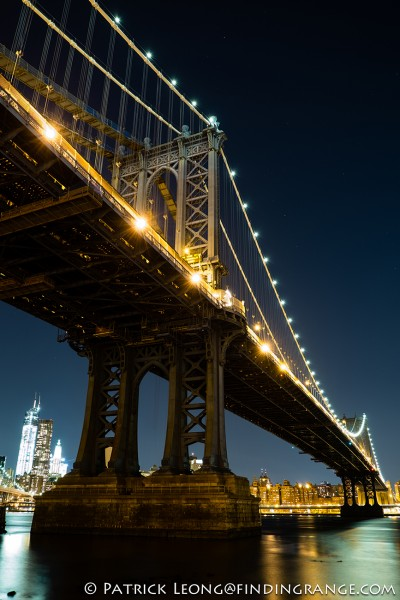 Fuji X-E1 18-55mm Manhattan Bridge