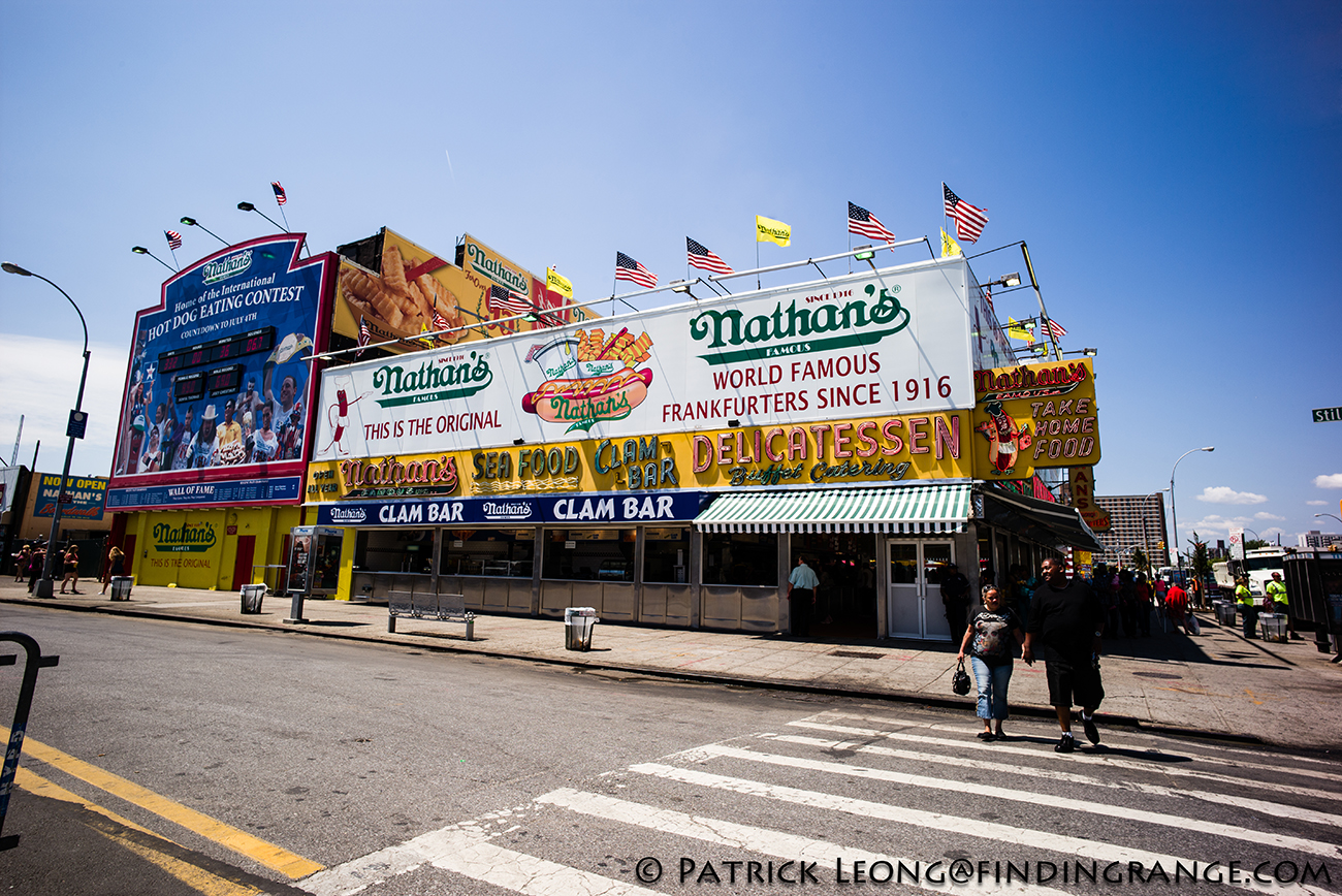Nathan S Coney Island Frog Legs