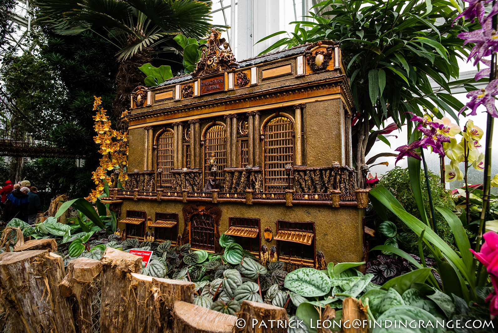 Holiday Train Show New York Botanical Garden Leica