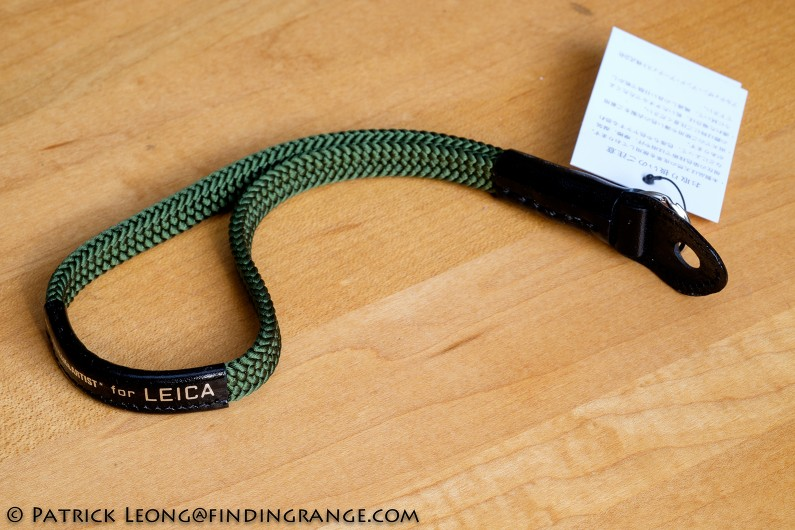 Artisan-Artist-Silk-Green-Wrist-Strap-For-Leica-1