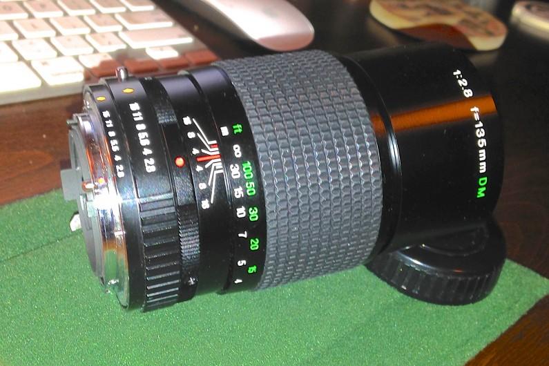 Fuji-X-E2-Fujinon-135mm-f2-SLR-Lens-Fotodiox-Adapter-4