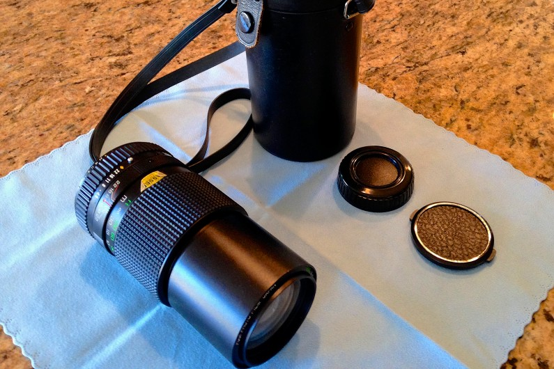 Fuji-X-E2-Fujinon-200mm-F4.5-SLR-Lens-Fotodiox-Adapter-4