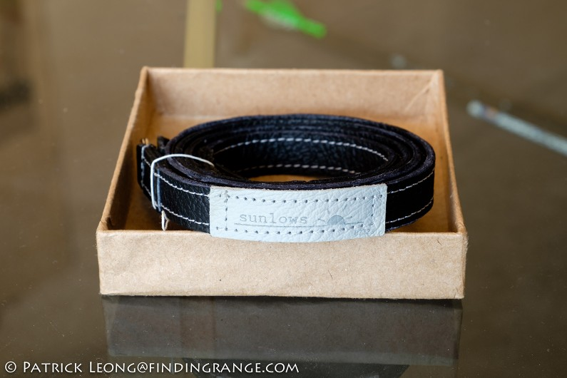 Sunlows-Orange-LL-Leather-Camera-Neck-Strap-Review-2