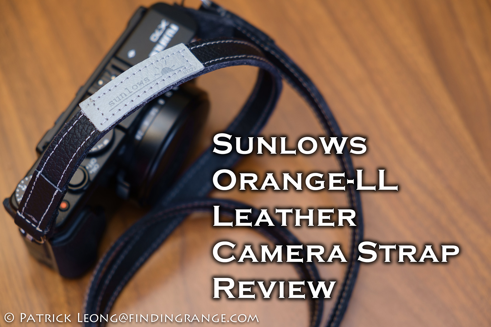 Sunlows-Orange-LL-Leather-Camera-Neck-Strap-Review-Fuji-X70-1