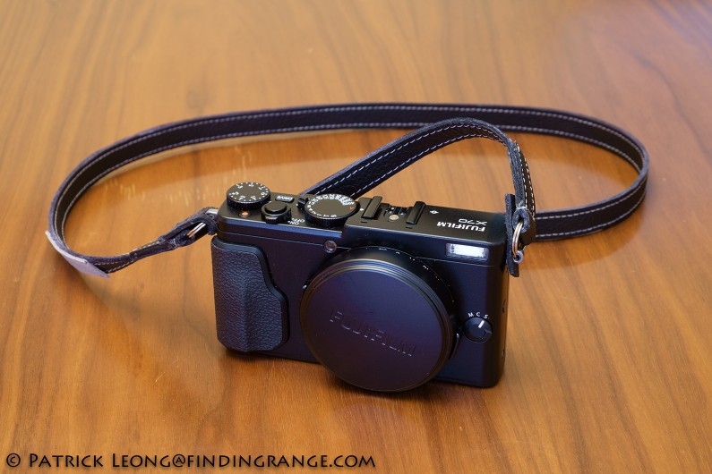 Sunlows-Orange-LL-Leather-Camera-Neck-Strap-Review-Fuji-X70-3