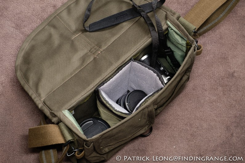 Domke-F-803-Olive-Drab-Camera-Satchel-Shoulder-Bag-Leica-M-System