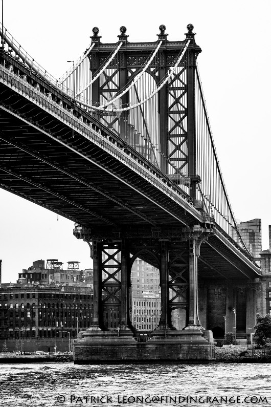 Fuji-X-T1-XF-100-400mm-f4.5-5.6-R-LM-OIS-WR-Lens-Manhattan-Bridge-Black-and-White