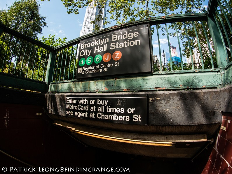 Panasonic-Lumix-GX85-Olympus-9mm-f8.0-fisheye-body-cap-lens-Brooklyn-Bridge-City-Hall-Train-Station-1