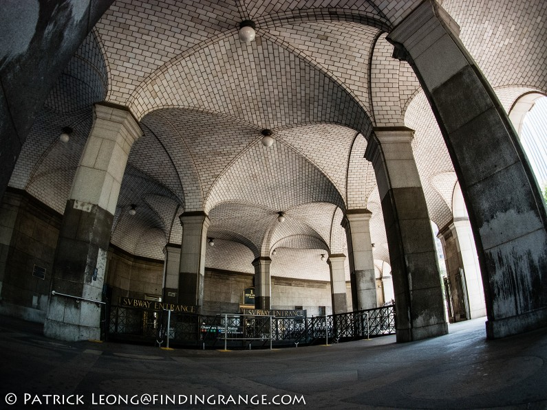 Panasonic-Lumix-GX85-Olympus-9mm-f8.0-fisheye-body-cap-lens-Brooklyn-Bridge-City-Hall-Train-Station-3
