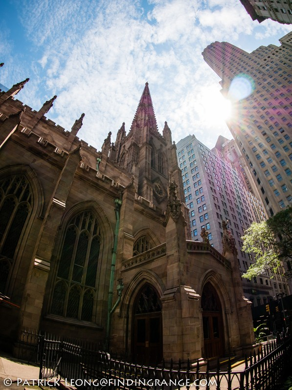 Panasonic-Lumix-GX85-Olympus-9mm-f8.0-fisheye-body-cap-lens-Trinity-Church-Financial-District-2