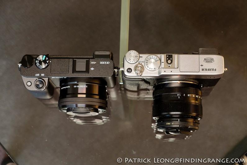 Sony-a6300-vs-Fuji-X-E1-Size-Comparison-1