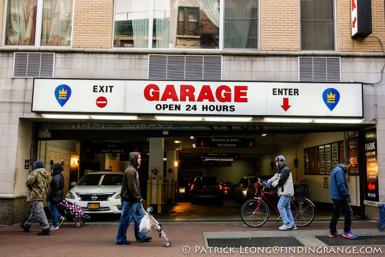 Sony rx100 v first impressions for New york city parking garage