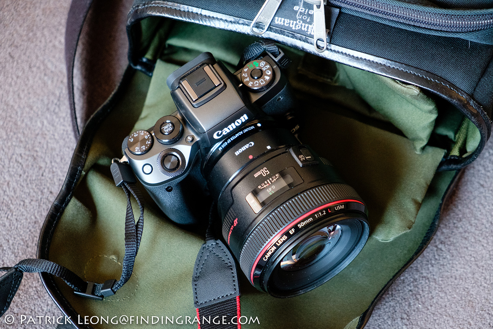 Images From The Canon EOS M5 And EF 50mm f1.2L USM