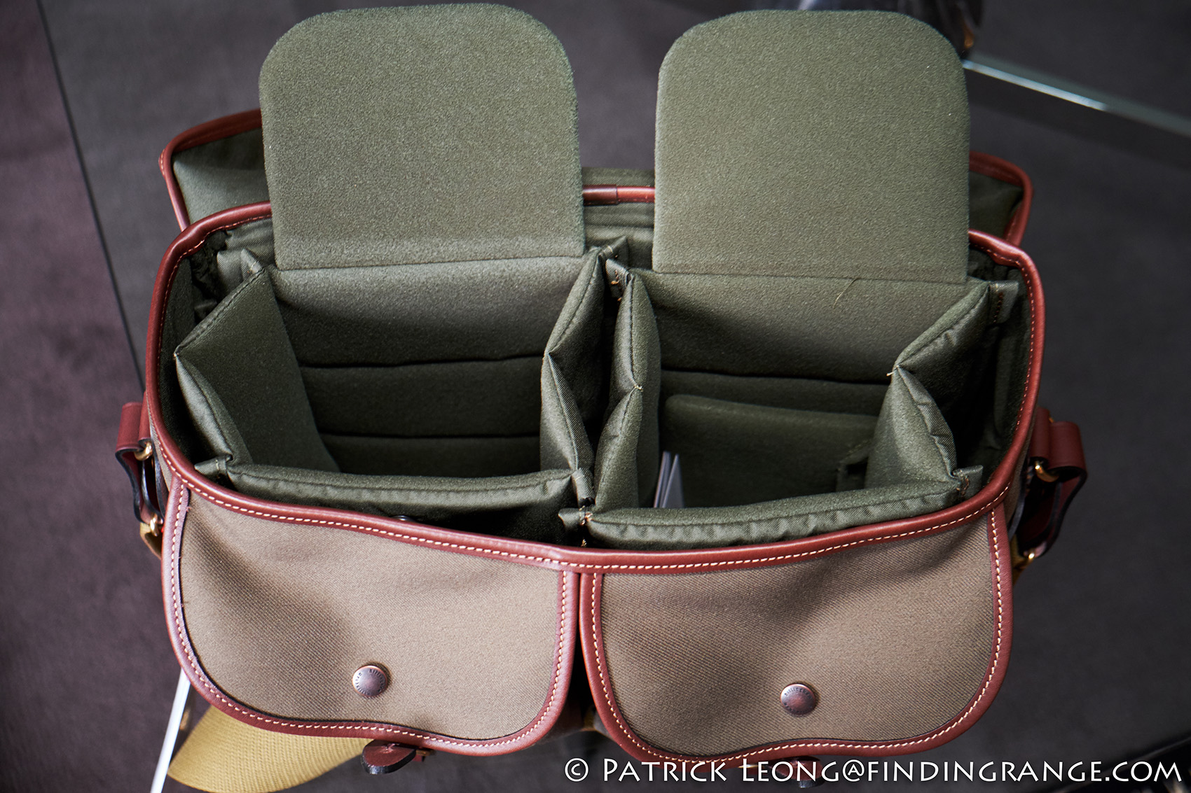Billingham Hadley One Camera Bag First Look Black Canvas Tan Leather Impressions Review 8