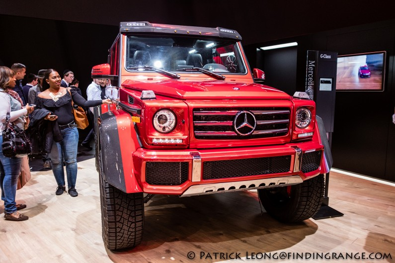 Fuji-X100F-New-York-International-Auto-Show-2017-Mercedes-Benz-G-Wagon