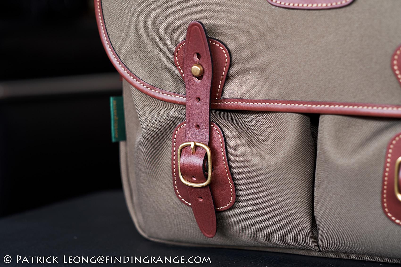 Billingham Hadley One Camera Bag Review Digital Burgundy Canvas Chocolate Leather 7