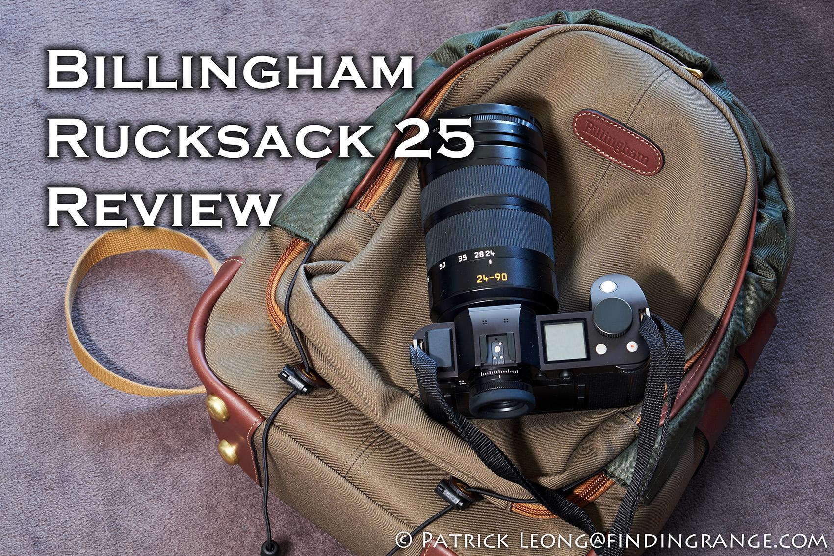 Billingham Rucksack 25 Review