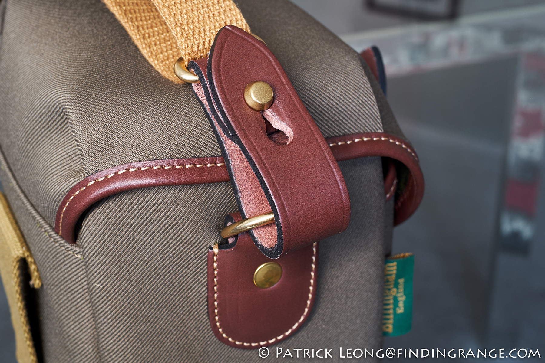 Billingham 72 Camera Bag Review Digital Burgundy Canvas Chocolate Leather The Rest Of My Stuff Also Since Is Compact There A Wide Belt Loop On Back It For Those Who Prefer Different Method Carrying