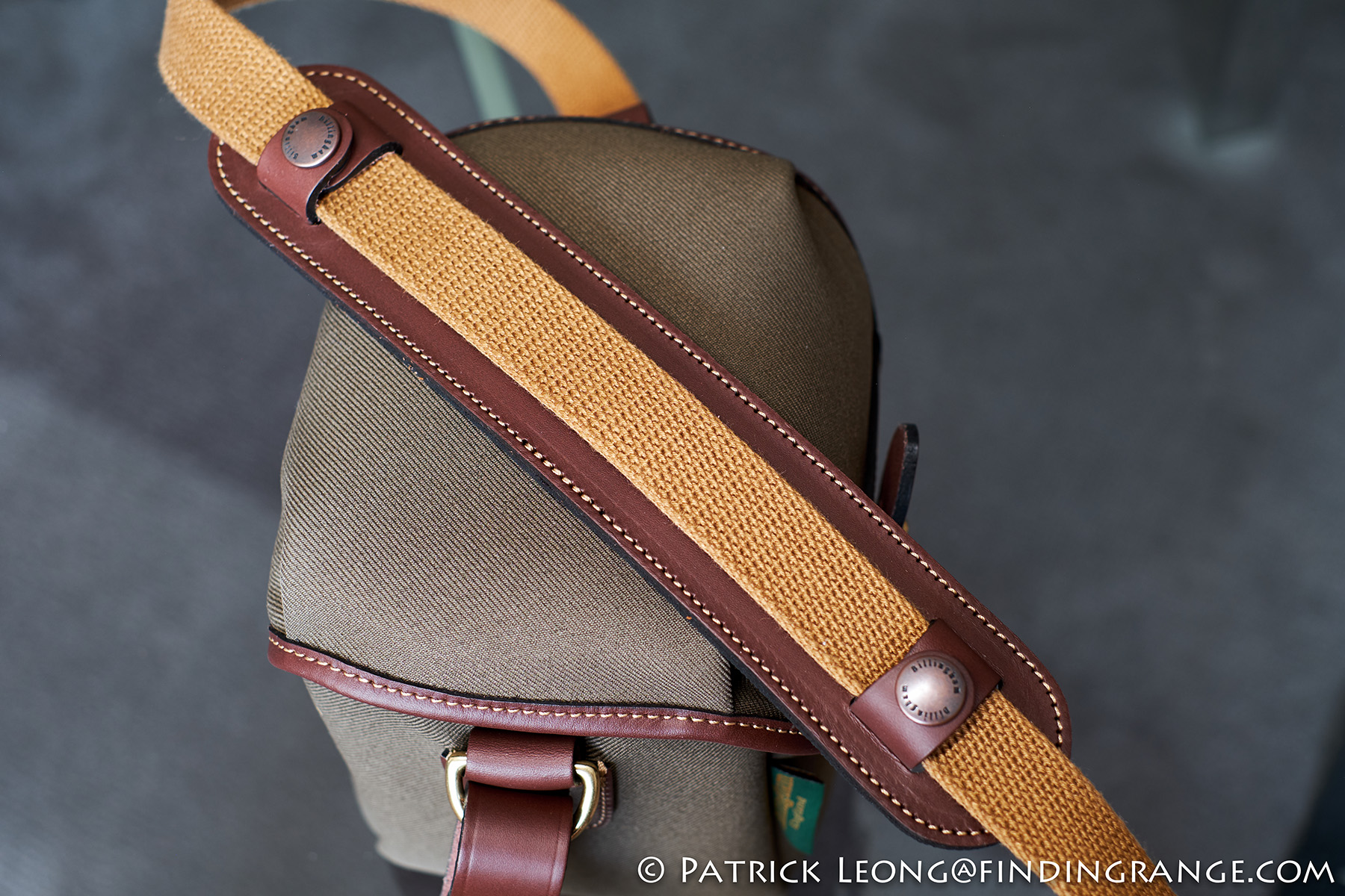 Billingham 72 Camera Bag Review Digital Burgundy Canvas Chocolate Leather In Use