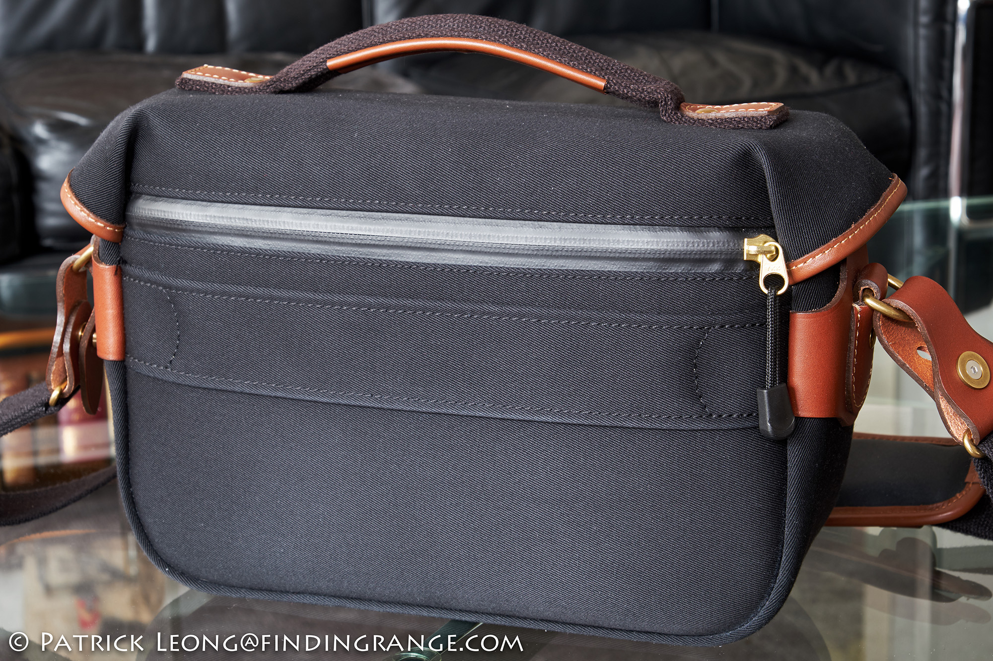 Billingham Hadley Small Pro Camera Bag Review Shoulder Sage Choc Leather Trim The Luggage Trolley Strap Allows You To Slide Over Handle On A Suitcase For Added Convenience