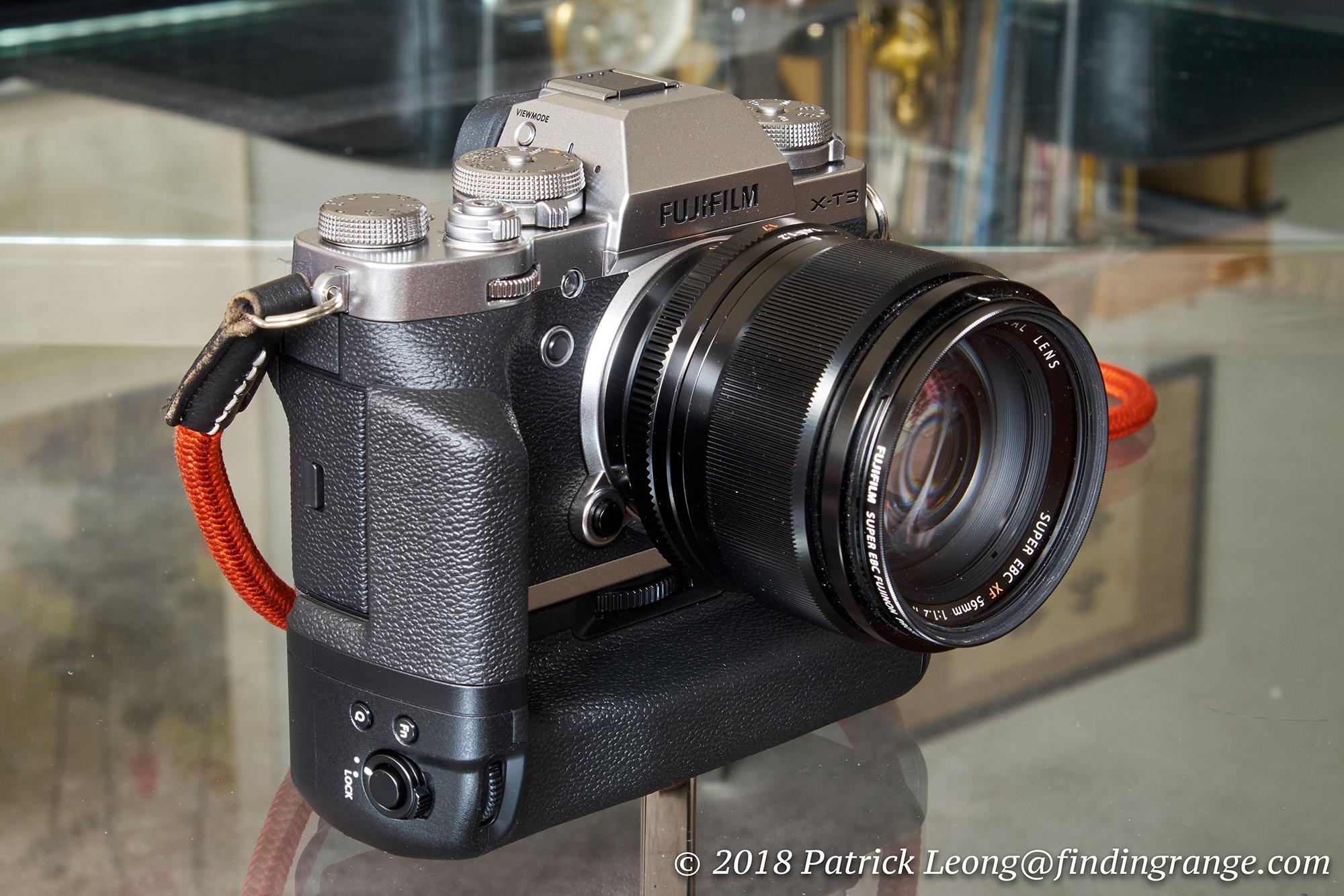 Fujifilm Vertical Battery Grip VG-XT3 Review