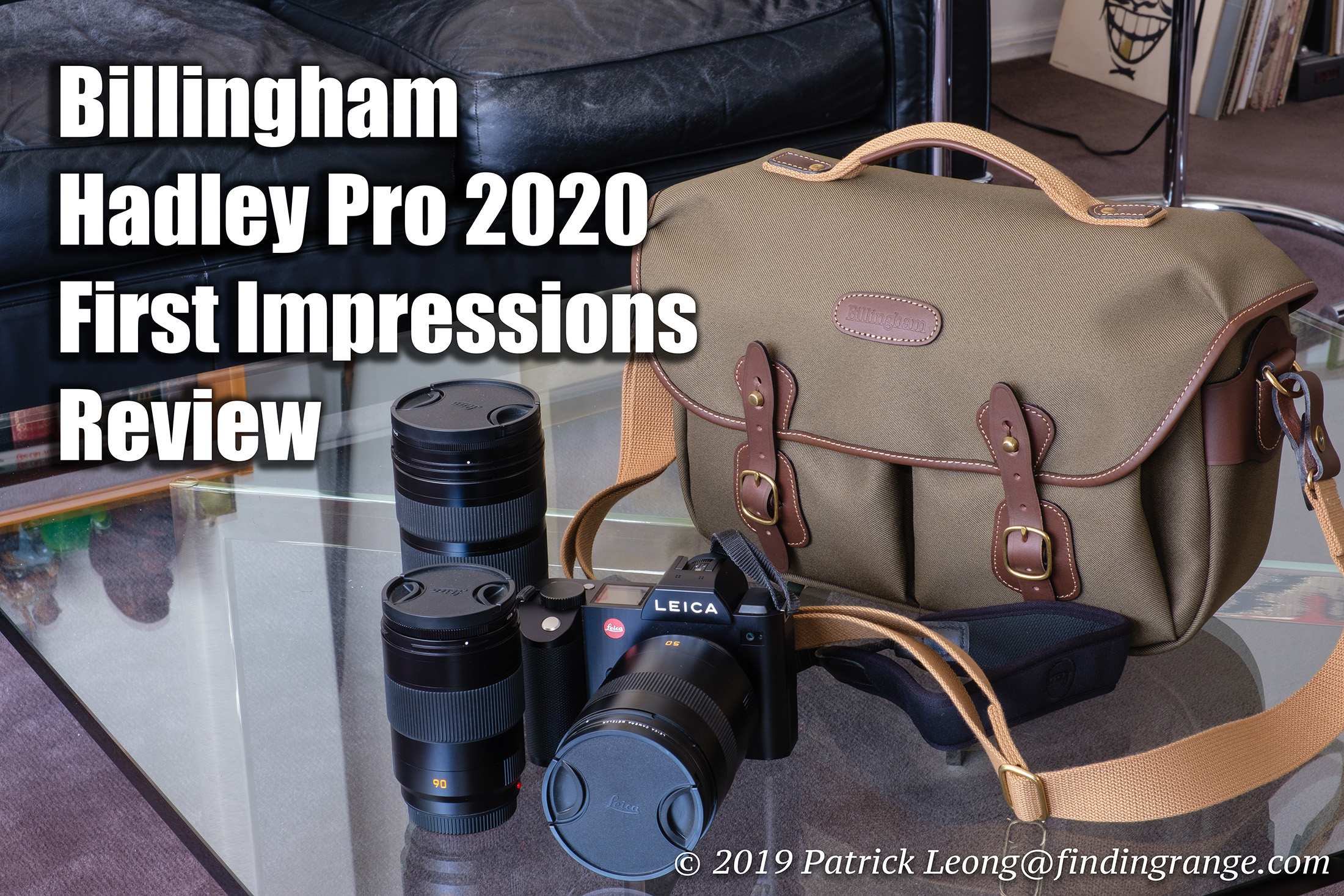 Best Camera Bags 2020 Billingham Hadley Pro 2020 First Impressions Review