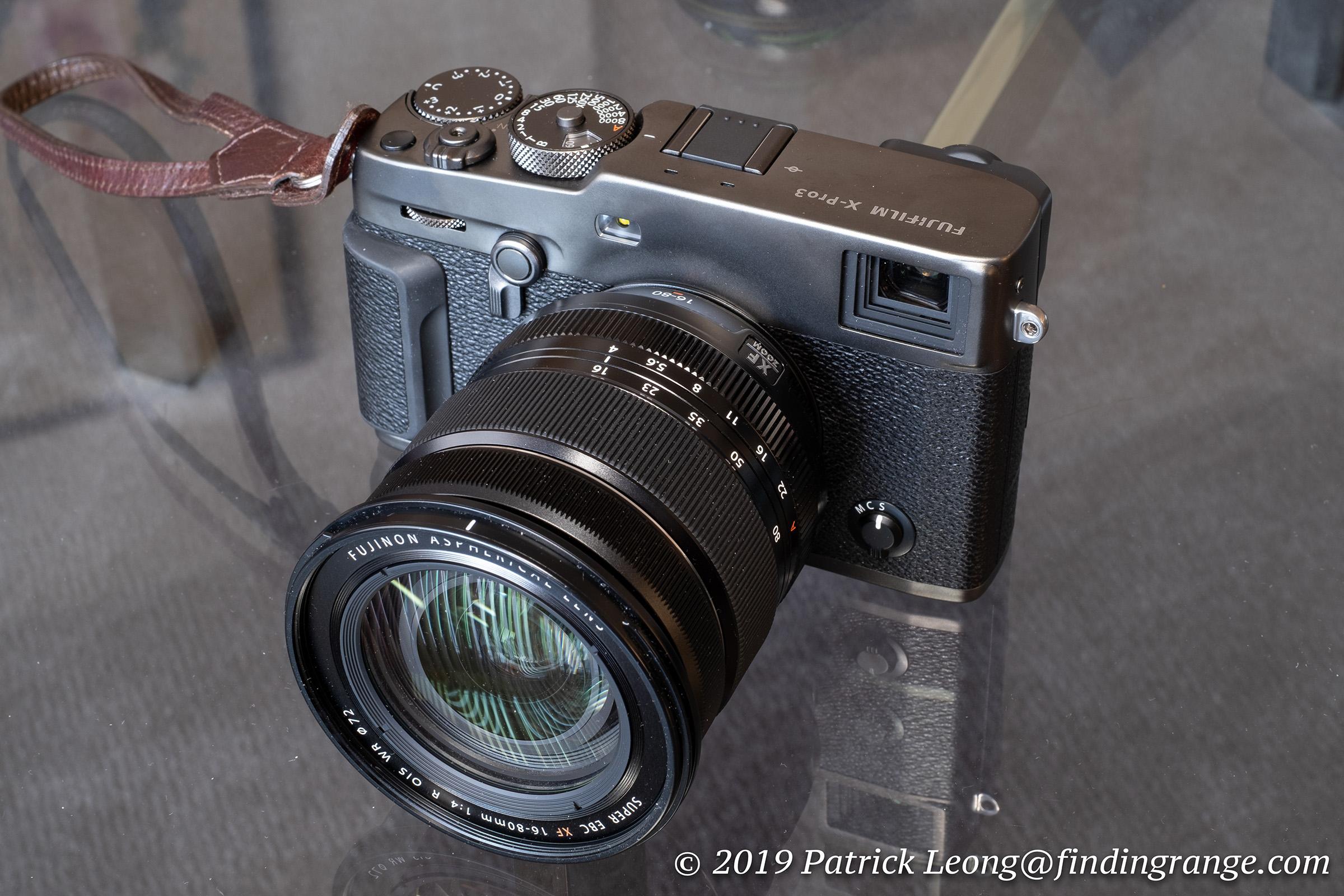 Fujifilm XF 16-80mm f4 R OIS WR Lens First Impressions